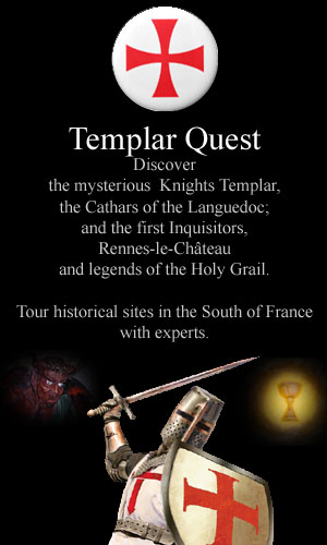 Click here to open Templar Quest Tours in the Languedoc, France in a new window