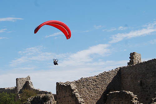Paragliding Hang Gliding And Hot Air Ballooning Are All Practiced Locally